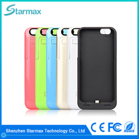Chinese factory high quality fashion phone battery case for iphone 6s