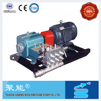 High pressure water plunger pump manufacture in china