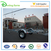 Galvanized steel semi boat trailer for Australia and New Zealand