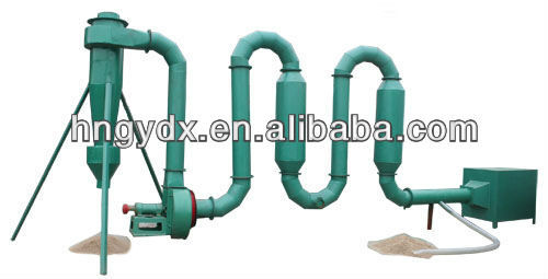 Sawdust dryer supplier from China for briquette making machine