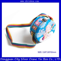Fancy holiday candy gift tin box for children