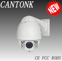 "H.264 4.5"" Mini High Speed demo 10X Zoom H.264 Wired IP Camera 1/3"" sony ccd webcam Web CCTV Camera"