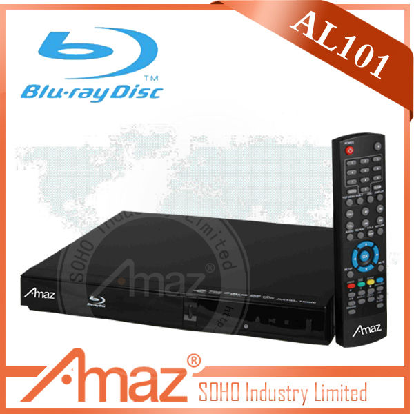 2014 Newest designed Full function 3D BLU RAY dvd player vertical