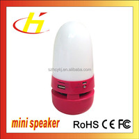 Shenzhen Factory Price Wireless Portable LED Stereo Mic Super Bass FM Bluetooth Speaker