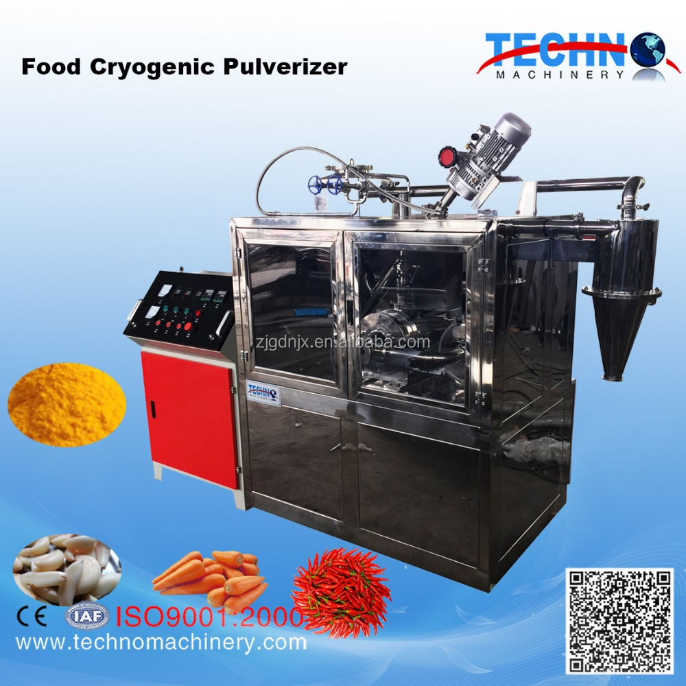 Grinder miller Plastic vegetable and fruits Frozen dried Food cryogenic pulverizer
