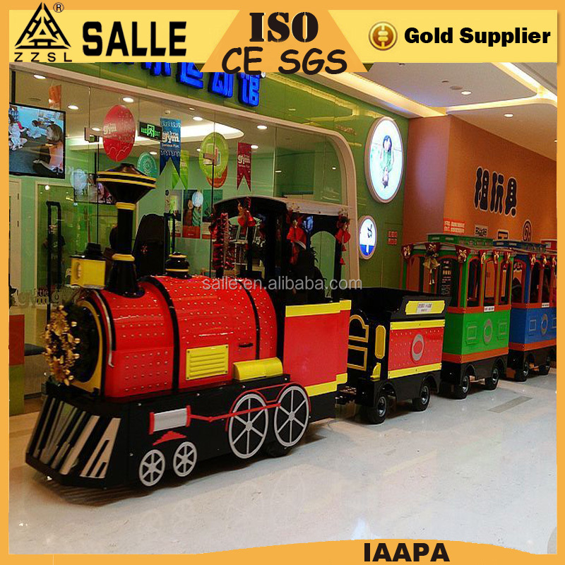 commercial electric ride on party train amusement park trains for sale
