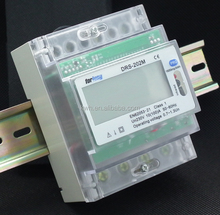 Forlong supply Modbus Din rail output electric din rail smart wireless power meter