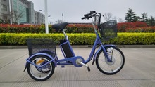 Economic shopping foldable Electric Tricycle for adults CE certification