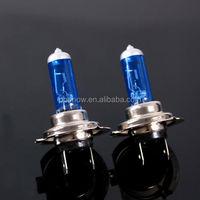 Factory Wholesale Auto Headlight Super white H7 halogen bulbs 35W,55W75W,100W