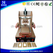 DINGHUA multifunction lcd repairing machine built-in vacuum lcd extraction separator, lcd adhesive glue removiing remover