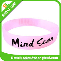 Fashion silicone bracelet rubber bracelet Colorful 100% Silicone fashion Bracelet