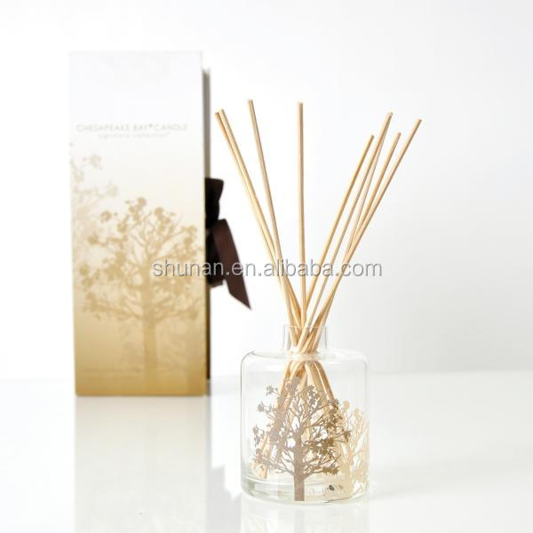 200ml Home fragrance Aroma Reed Diffuser with glass bottle SA-0691