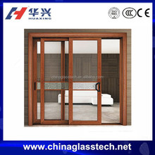 Soundproof Aluminium Sliding Tempered Glass Bedroom Door