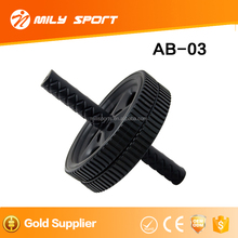 2017 new style training plastic AB wheel for body building