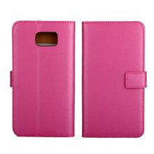 Free Sample Multi color simple flip wallet android leather mobile cell phone case for Samsung Galaxy note 5