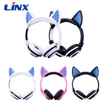In stock ! promotion own private New design blue tooth headset on Alibaba