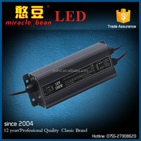 CE Rohs waterproof IP67 Iron shell power supply 100W regulated power supply for LED Point Light