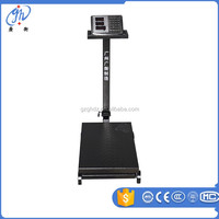 portable wheel load digital weighing scale 1000 kg / wheel movable platform scale