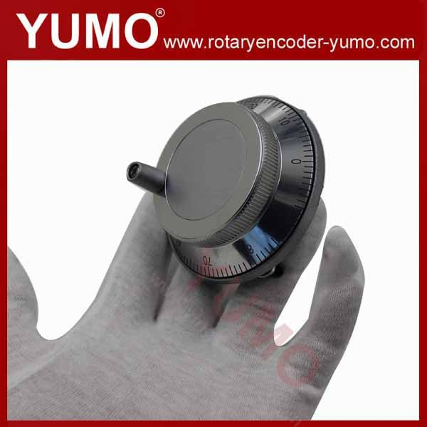 ISM8060 80mm 100 ppr pulse 5V DC Manual Pulse Generator CNC Handwheel MPG Manual Encoder rotary encoder socket pressure sensor