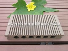 round hole wpc decorate decking floor