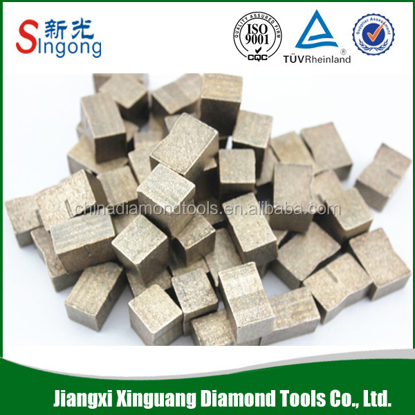 Hot Press Sintered Diamond Segment Saw Blade for stone