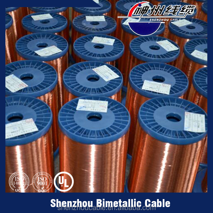 China suppliers wholesale supply enameled copper clad aluminum wire