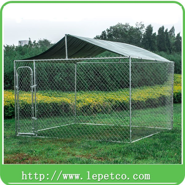 high quality outdoor heavy duty steel dog kennel cage dog kennel designs