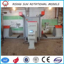 rotational molding plastic making machine plastic rotational mould pot flower rock & roll rotomolding machine