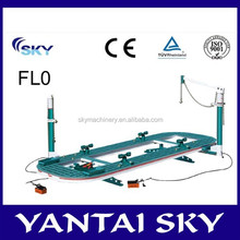 CE approved auto body collision repair equipment, auto body frame, car pulling tool