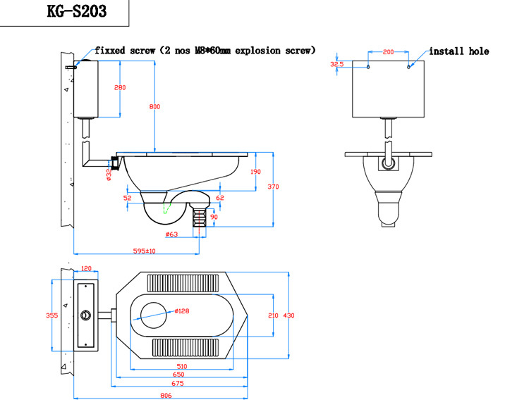 Water Closet Stainless Steel Squatting Pan_60280343002 on Simple House Floor Plan