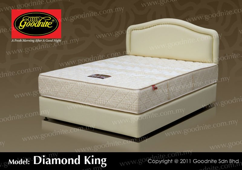 Diamond King Pocket Spring Mattress