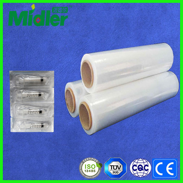 adhesive film for disposable extra long needle