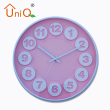 Promotional High Quality Plastic 3D Wall Clock