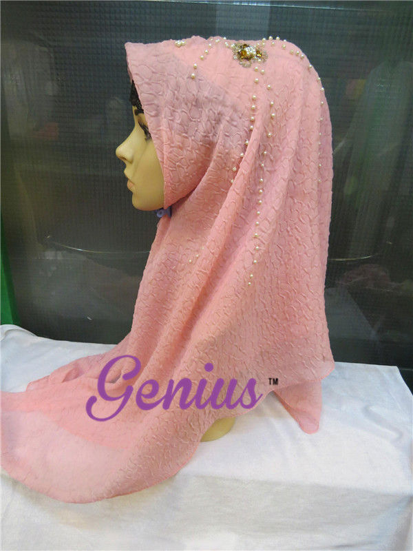 2013 Wholesale Muslim Scarf Hijab with Jewelry