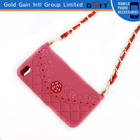 Newest Shoulder Chain Bag Style Silicon Case For Note 3, For Note 3 Bag Case