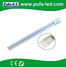 2016 new product led light fixture 4pin 2g11 pll led tube light with ce rohs