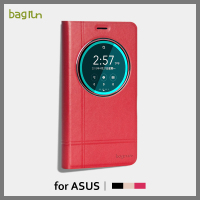 Leather Flip Phone Cover for Asus Zenfone 2 laser 5.5 ze550kl standing phone case