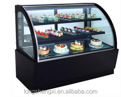 Store and supermarket cake display fridge