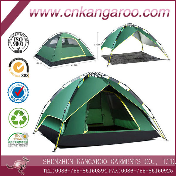 Pop up canopy outdoor camping military used two layer new connectable Moroccan tent