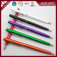 Small MOQ promotioanl pen plastic ball pen with sample free