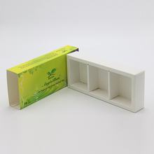 Factory price green 300 gsm paper gift box packaging