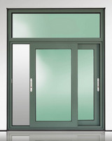 House design commercial window glazed double glass windows price