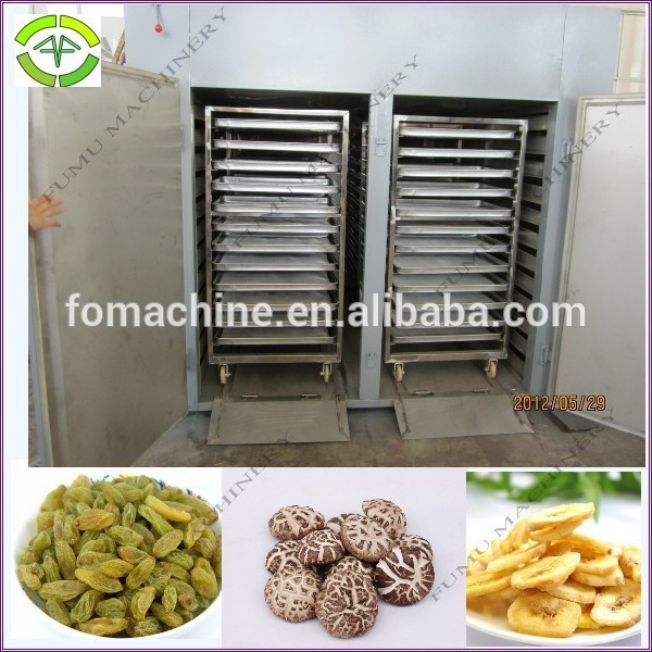 stainless steel vegetable and fruits drying machine