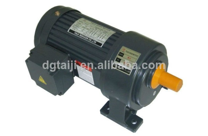 Ac motor gear speed reducer with electric ac motor gear for Speed reducers for electric motors
