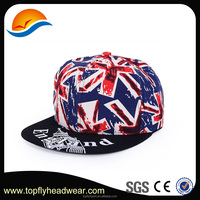 NEW custom sublimation hip-pop Snapback cap and .British style printing snapback cap and hat.