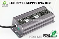 Constant voltage 80w led power 240ma led driver led dimmable driver