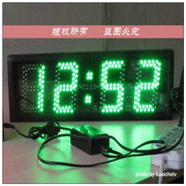 <strong>p10</strong> indoor full color led display low price led digital clock display time and temperature led displays