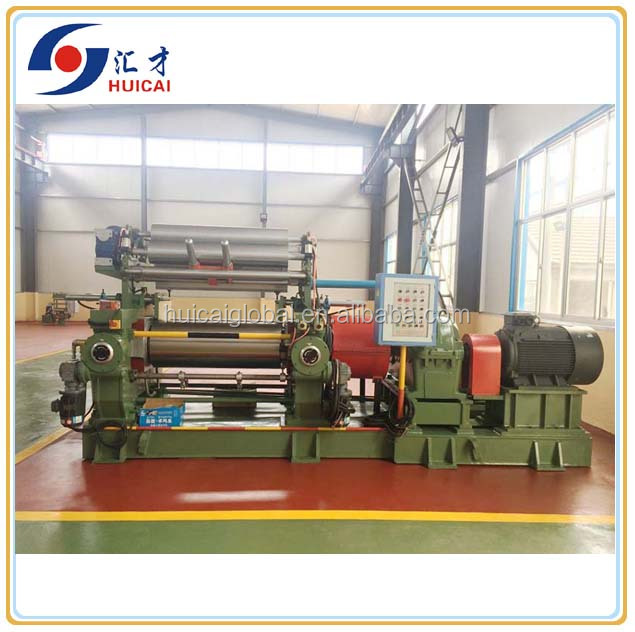 High quality low price XK-400 Open two roll Rubber Mixing Mill