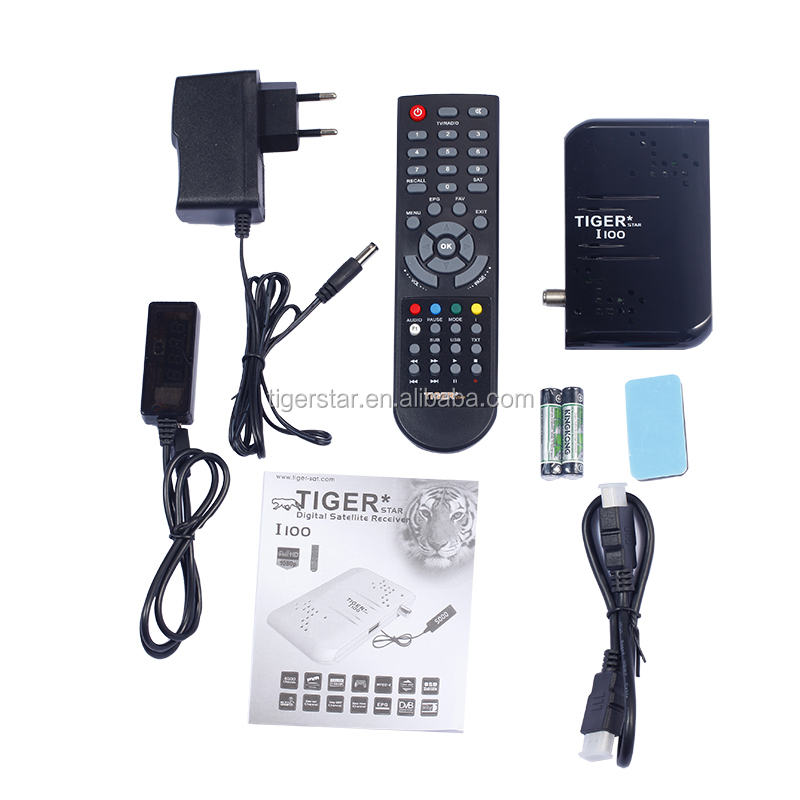 Tiger satellite receiver I100 set top box free to air