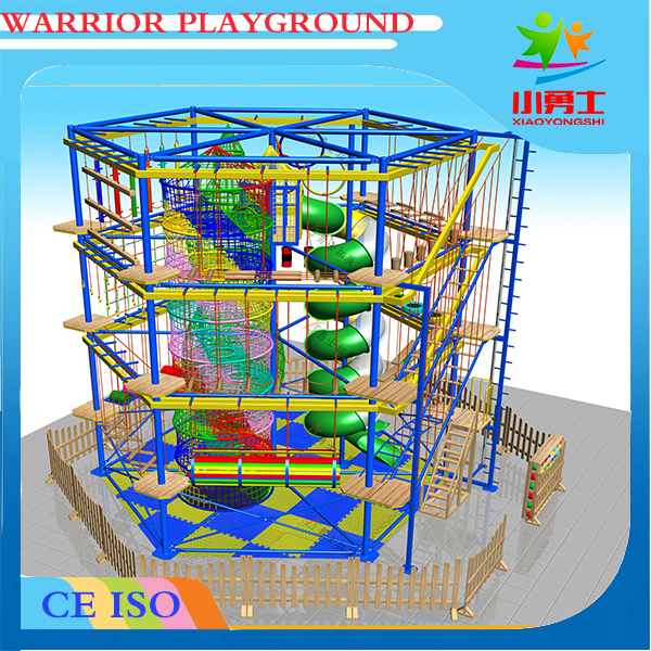 durable in use customized web adventure park